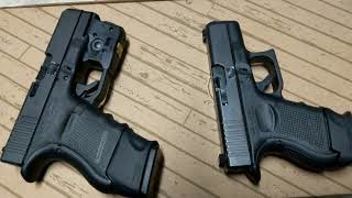 Glock 29 10MM AUTO And Glock 27 .40 S&W Conceal Carry:  Mag Size Options + TLR-6 Outdoor Brightness