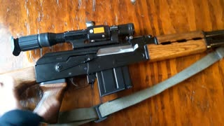 My Favorite Zastava : Yugo M76 DMR 8MM Mauser? Semi Auto? 11RD MAG? Sounds right!