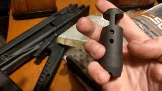Review: Is The Tapco AK74 Muzzle Brake Same As a AK-74 Muzzle Brake? SDS Imports 10 Round Saiga Mags