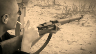 Classic Video: Shooting the Schmidt Ruben K-31 Straight Pull 7.5x55 Swiss Bolt Action Rifle (2008)