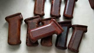 Quick Method: Romanian Bakelite AK Pistol Grip Refinishing