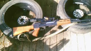 Zastava Yugoslav M76 DMR 8MM AK Sniper rifle (2008)