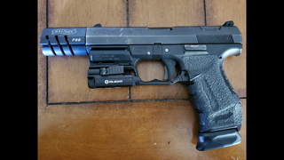 """Walther P99 w/ """"Earls"""" Compensator"""