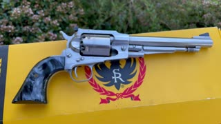 Ruger Old Army Meet and Greet with TheTNPicker .45cal Black Powder Revolver Built 1998
