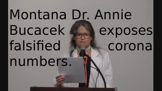 Montana physician Dr. Annie Bukacek discusses how COVID 19 death certificates are being manipulated