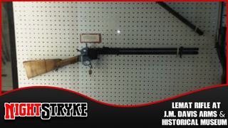 The LeMat Revolving Rifle at J.M. Davis Arms & Historical Museum