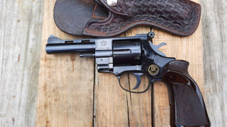 My Grandfather's Sidearm Arminus HW 38 Revolver In 38 Special. Old Budget Security Guard Pistol.