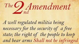 No Enforcement of any Federal Gun Law legislation needed for each state. 2A Gun Cleaning Talk.