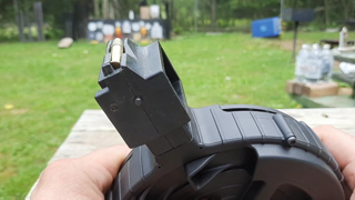 GSG 110 Round Drum Magazine For Ruger 10/22. A standard capacity magazine. Unboxing.