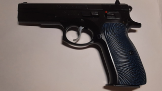 CZ-75B 40 S&W. Shooting 40 rounds of 40, to celebrate my 40 years on God's Green Earth