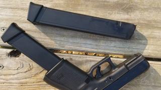 Glock 19 Gen 5 With KCI 33 Round Stick Magazine, Nuff Said.