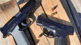 Smith&Wesson M&P9 Shield Plus Vs The Remington RP9 Quick Range Comparision And Fun Shoot.