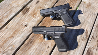Glock 19 Quick Comparison To Glock 44 As A Training Tool