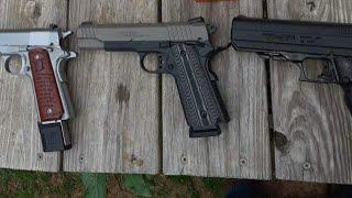 Tula 45 ACP 230 Grain Full Metal Jacket Group Test Remington R1 1911 Taurus PT1911 Hi-Point JHP 45