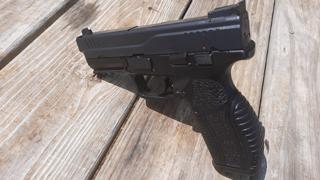 Tisas Zigana PX9 9mm. After Sight Adjustment Test Using Callaway Ballistics 115 Grain TMJ Reman.