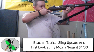 Mosin Nagant 91/30 and Beachin Tactical Speed Sling
