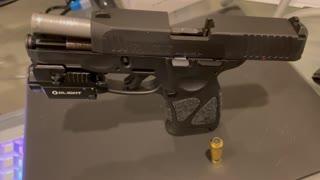 Convert Taurus G3C into a laser trainer